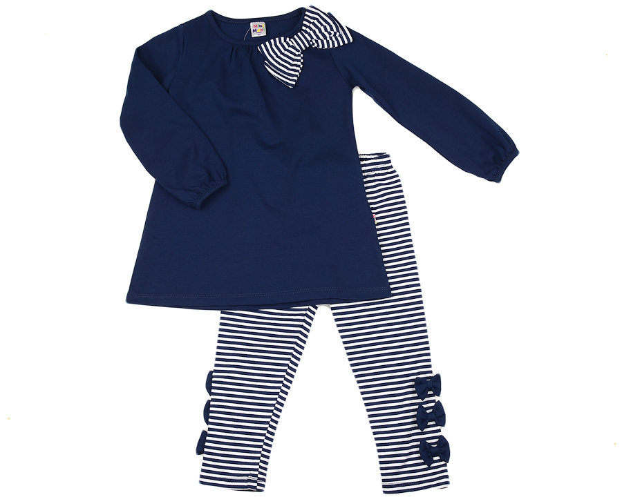 UD 1438/1439(2)синий  Mini Maxi Комплект для девочки (98-116см) UD 1438/1439(2)синий