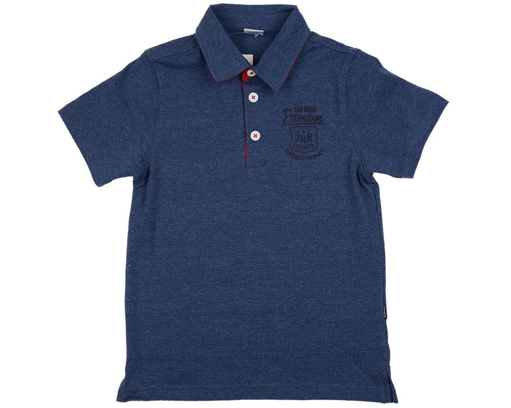 UD 0700(3)синий  Fifteen Рубашка-поло (122-146см) UD 0700(3)синий