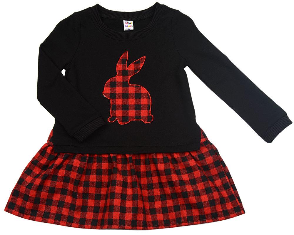 UD 2430(2)черный  Mini Maxi Платье (98-122см) UD 2430(2)черный