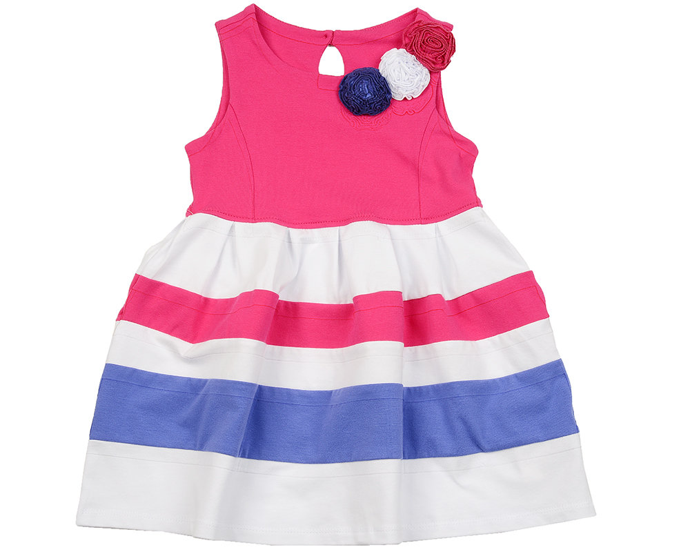 UD 1640(2)малина  Mini Maxi Платье с розочками (98-122см)
