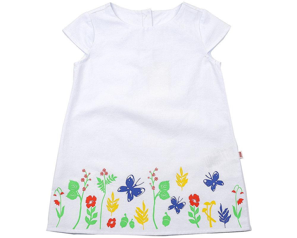 UD 2785 белый  Mini Maxi Платье (92-116см) UD 2785 белый