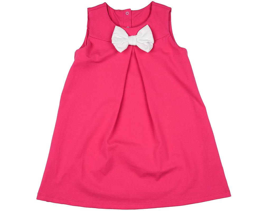UD 0820(2)малина  Mini Maxi Платье с бантом (98-116см) UD 0820(2)малина