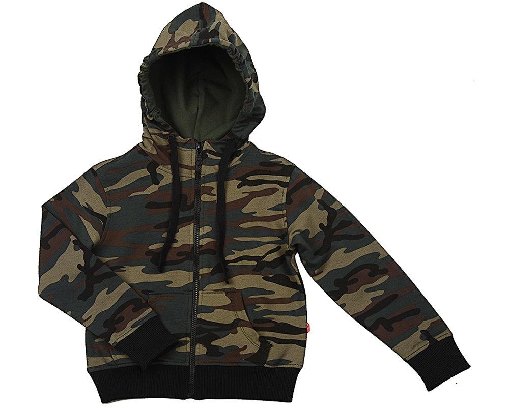 UD 3170(1)хаки-черн  Fifteen Куртка камуфляж (122-146см) UD 3170(1)хаки-черн