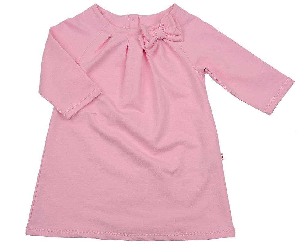 UD 1999(2)св.розов  Mini Maxi Платье однотонное (98-116см)