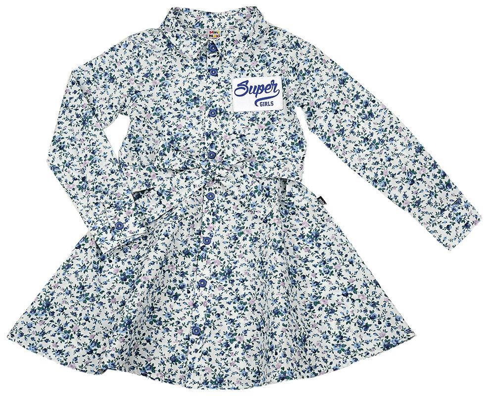UD 3736(14)цветы  Mini Maxi Платье (98-122см) UD 3736(14)цветы