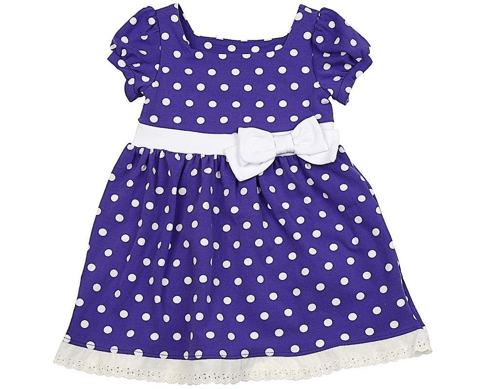 UD 1419(2)сирень  Mini Maxi Платье в горох (98-122см) UD 1419(2)сирень