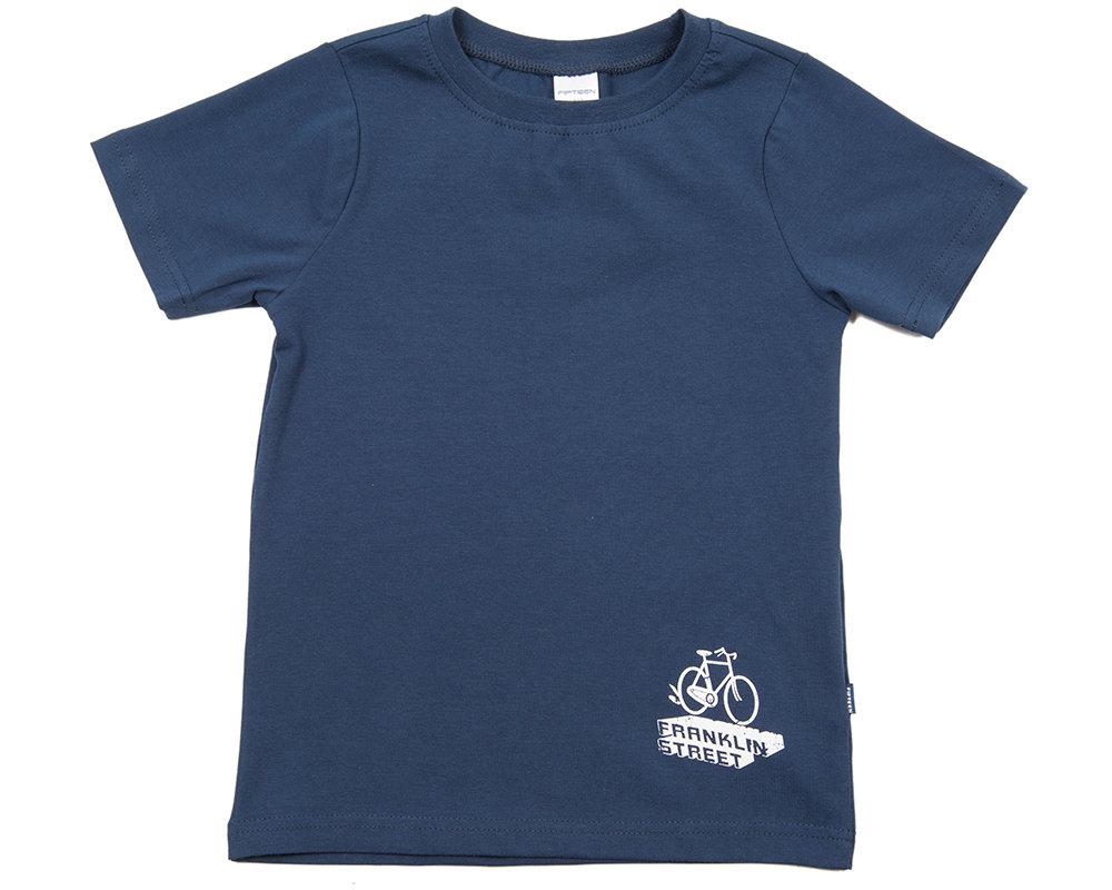 UD 0394(4)синий  Fifteen Футболка Franklin Street (122-146см) UD 0394(4)синий