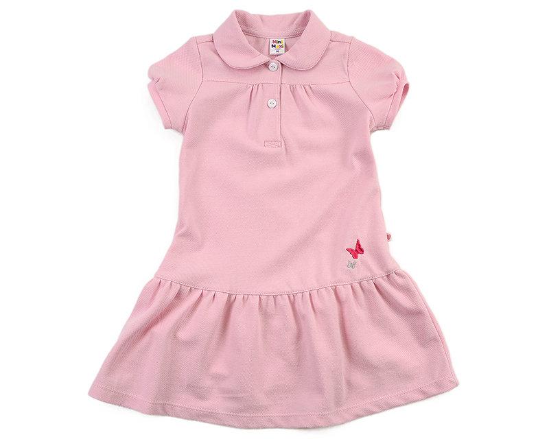 UD 0695(1)розовый  Mini Maxi Платье с бабочками (98-122см) UD 0695(1)розовый