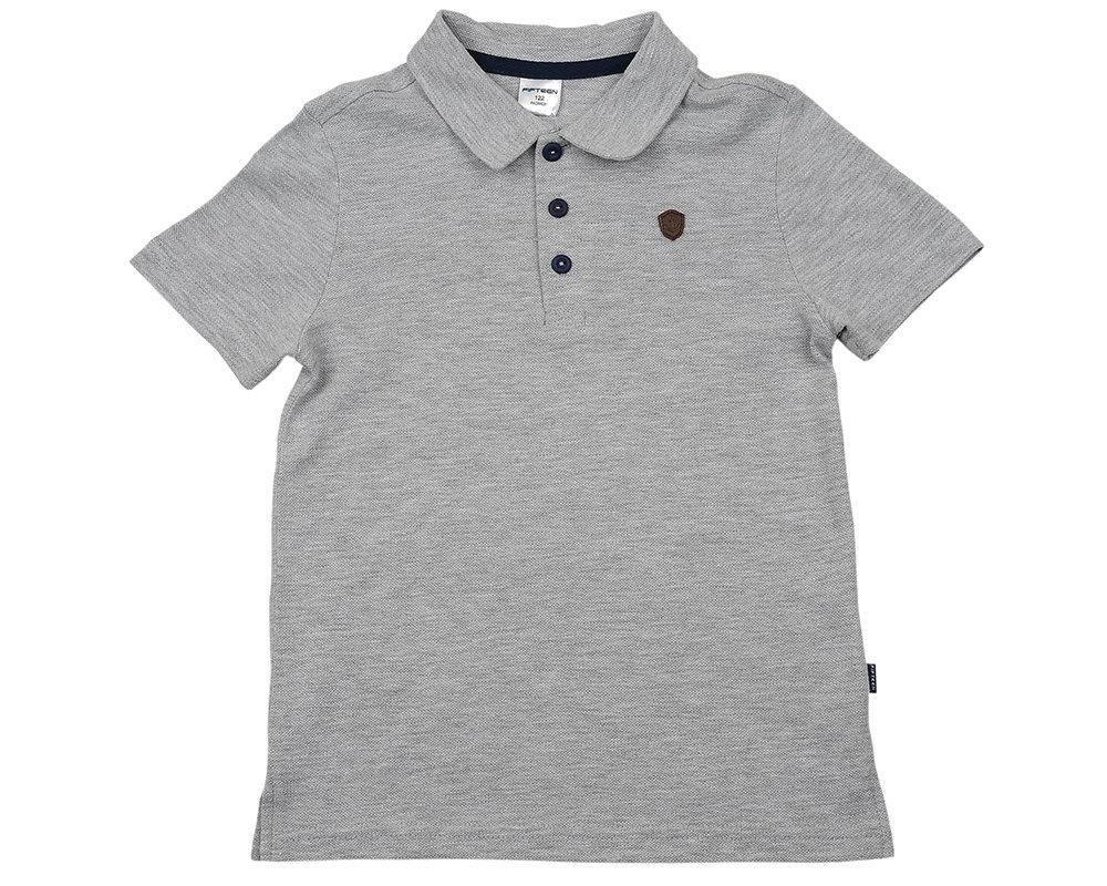 UD 2055(5)серый  Fifteen Рубашка-поло (122-146см) UD 2055(5)серый