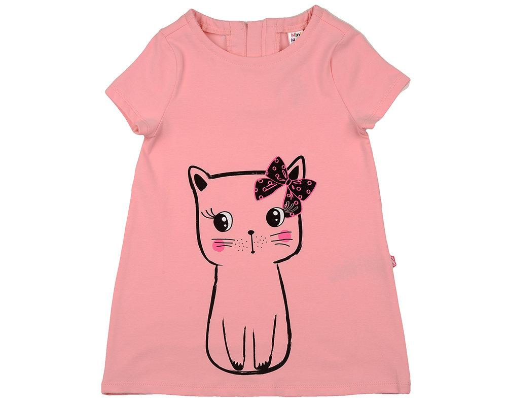 UD 4318(2)розовый  Mini Maxi Платье (98-122см) UD 4318(2)розовый