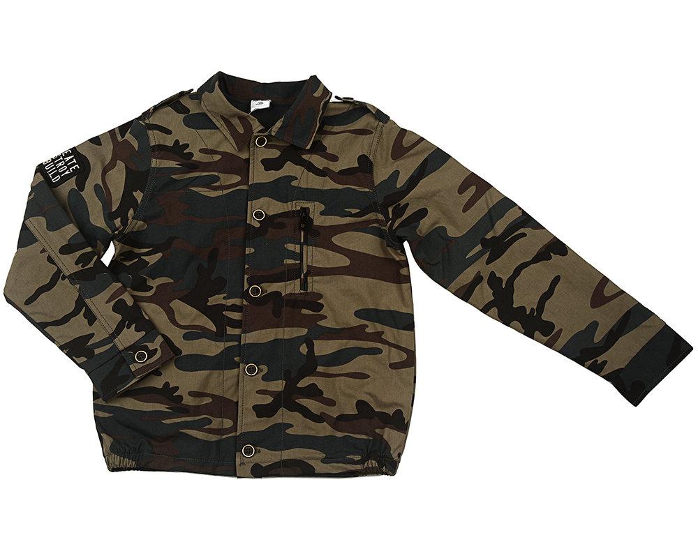 UD 3633(2)камуфляж  Fifteen Куртка (128-146см)