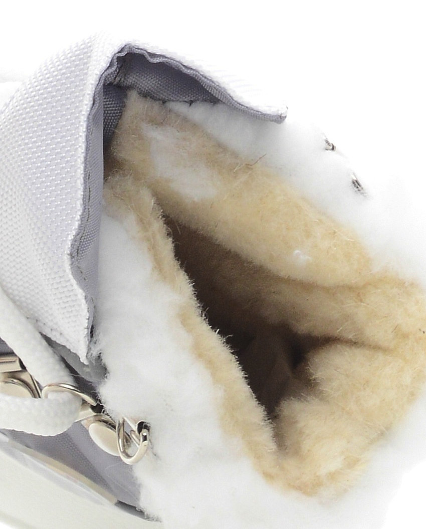 563-05 Сапоги Дюна Сноубутсы оптом, св.серый/белый, размеры 23-26