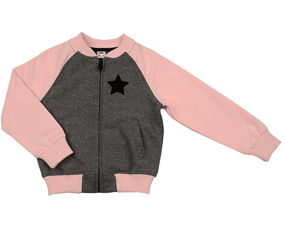 UD 4359(1)розов  Mini Maxi Бомбер (куртка) (98-122см) UD 4359(1)розов