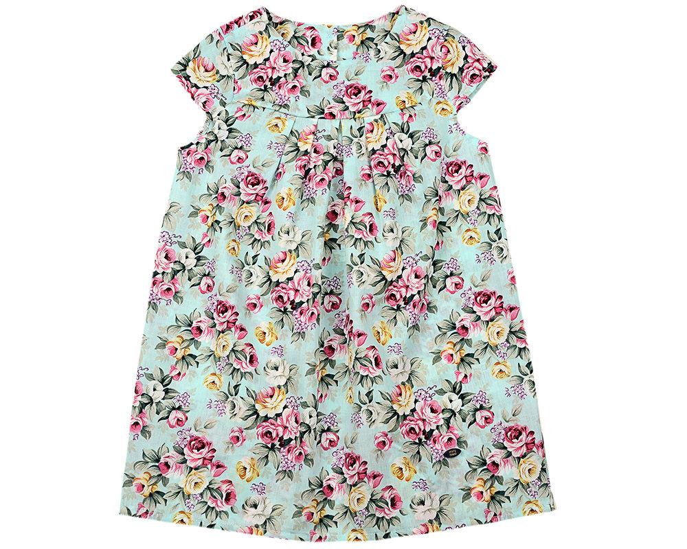 UD 4141(1)цветы  Mini Maxi Платье (80-92см) UD 4141(1)цветы
