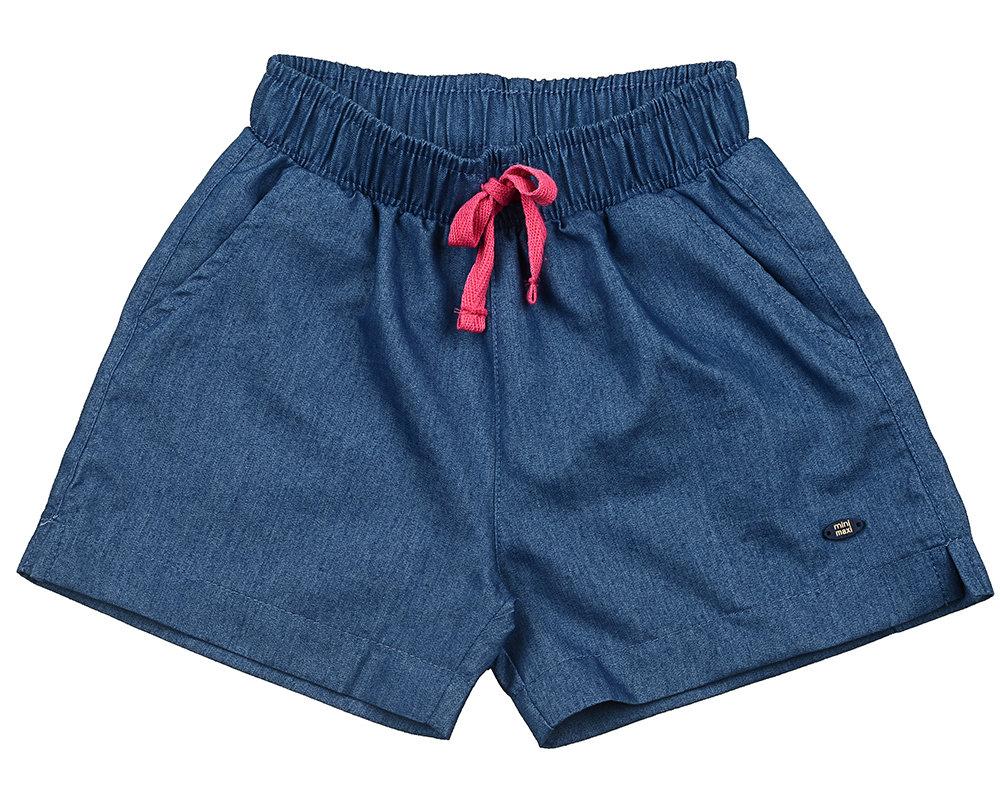 UD 4257(2)джинс  Mini Maxi Шорты для девочки (98-122см) UD 4257(2)джинс