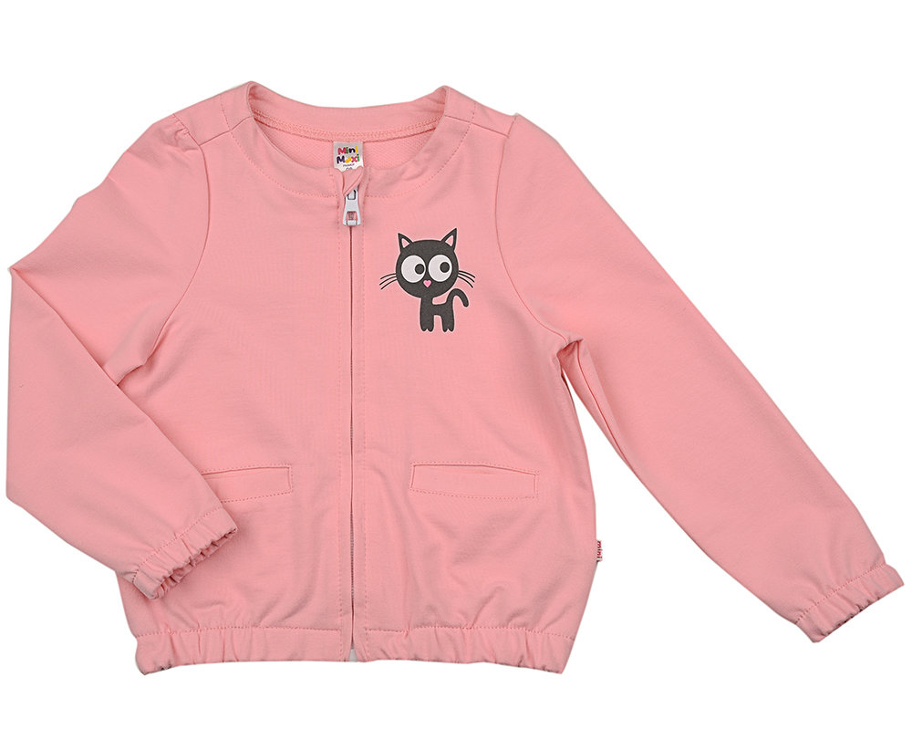 UD 4379(1)розовый  Mini Maxi Бомбер (куртка) (98-116см) UD 4379(1)розовый