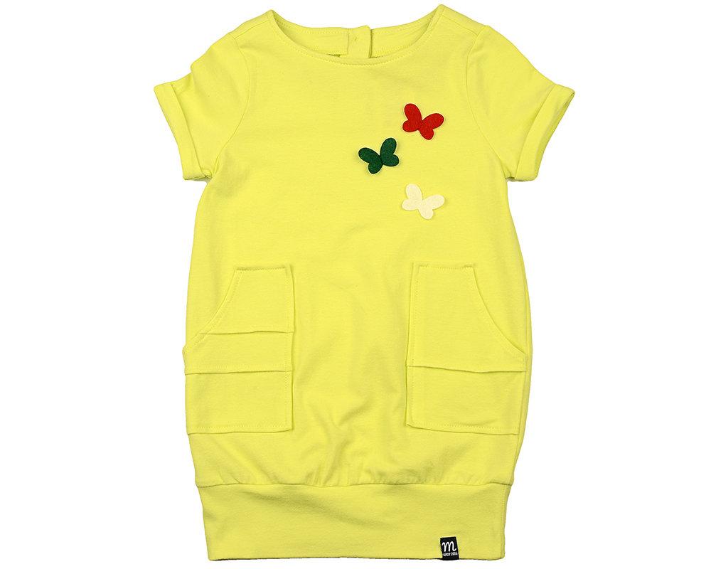 UD 4140(1)св.желт  Mini Maxi Платье (92-116см)