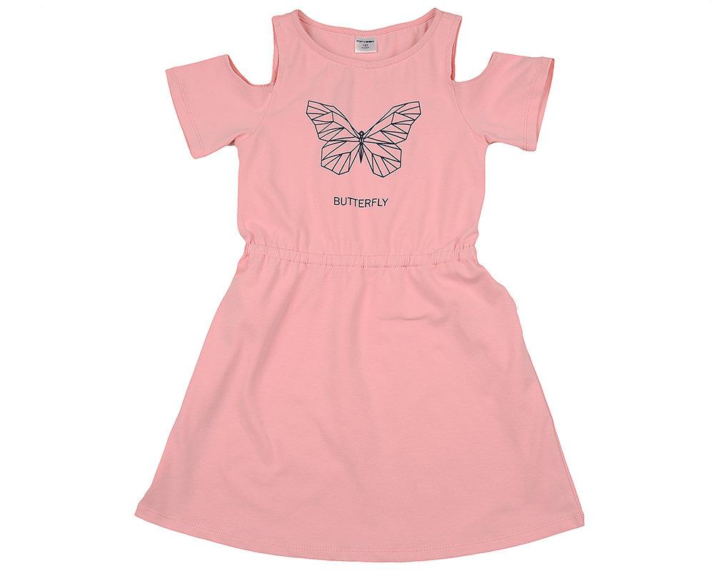 UD 4510(1)розовый  Fifteen Платье (122-146см) UD 4510(1)розовый