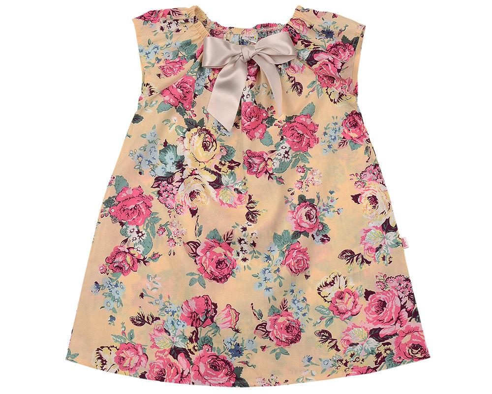 UD 3350(1)беж.розы  Mini Maxi Платье (92-116см) UD 3350(1)беж.розы