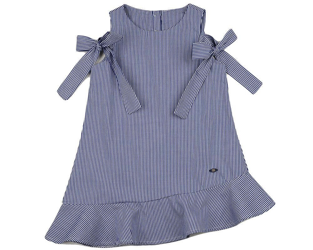 UD 4532(1)син кл  Mini Maxi Платье (98-122см) UD 4532(1)син кл