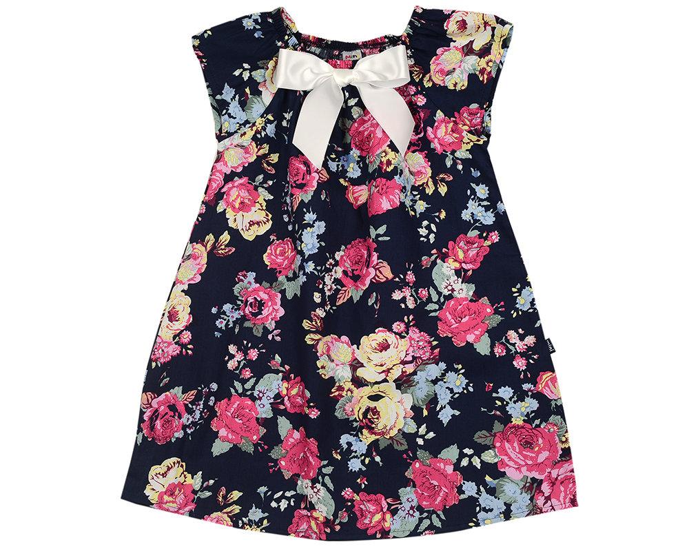 UD 3350(5)син.розы  Mini Maxi Платье (92-116см) UD 3350(5)син.розы