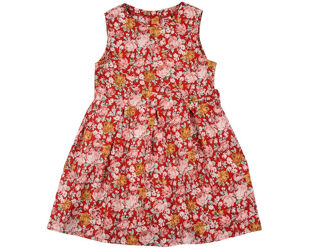UD 4590(1)крас цв  Mini Maxi Платье (98-122см) UD 4590(1)крас цв