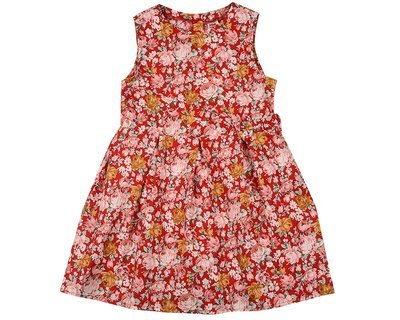 UD 4590(1)крас цв  Mini Maxi Платье (98-122см)