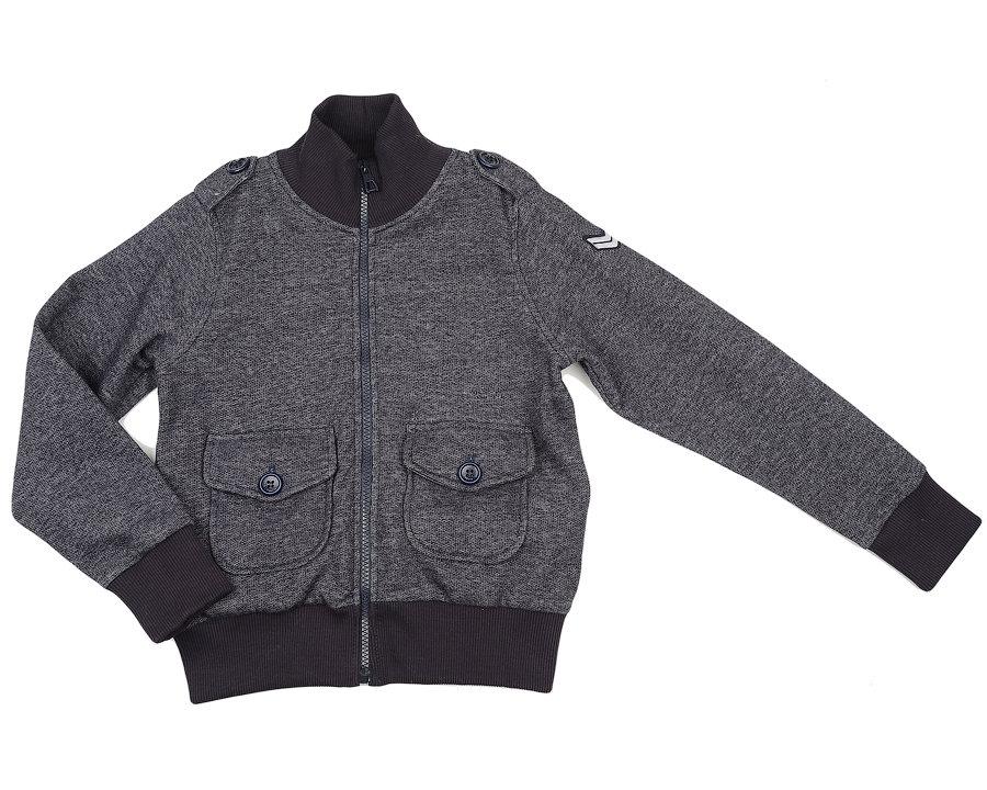 UD 0619(2)джинс  Fifteen Куртка с накл.карманами (122-146см) UD 0619(2)джинс