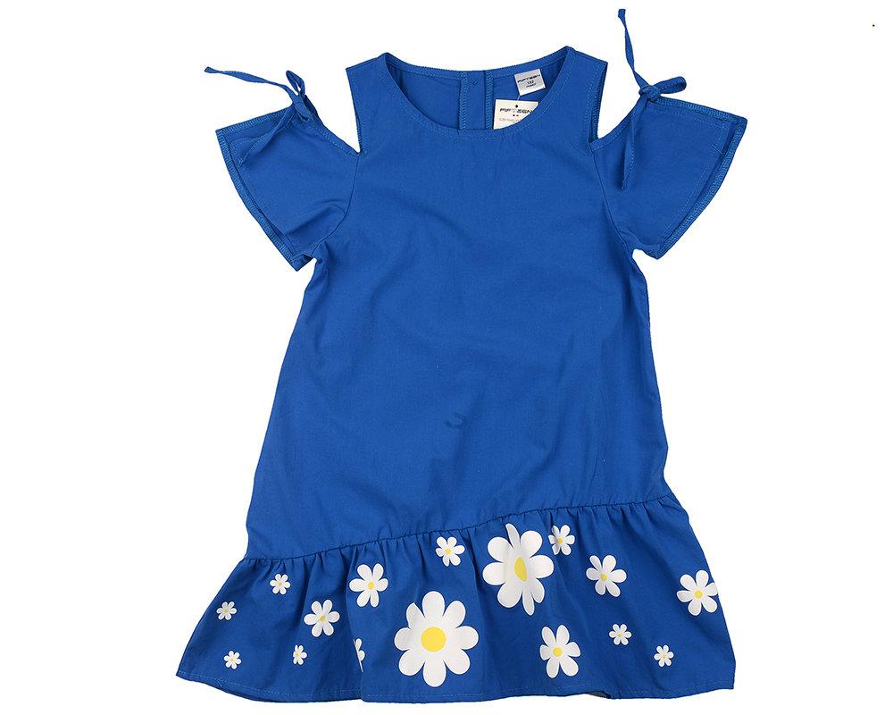 UD 4602(1)синий  Fifteen Платье (122-146см) UD 4602(1)синий