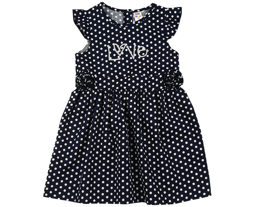 UD 4592(2)синий  Mini Maxi Платье (98-122см) UD 4592(2)синий