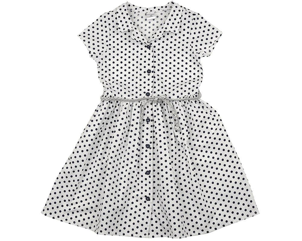 UD 4595(3)син.горох  Mini Maxi Платье (122-146см) UD 4595(3)син.горох