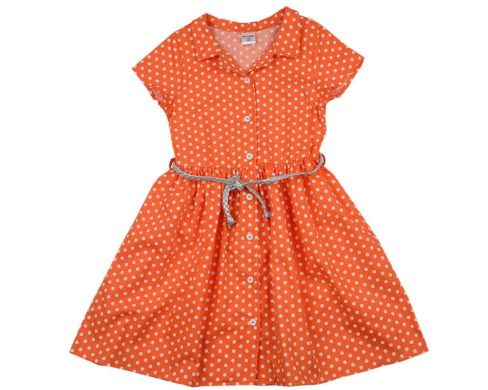 UD 4595(2)оранж  Mini Maxi Платье (122-146см) UD 4595(2)оранж