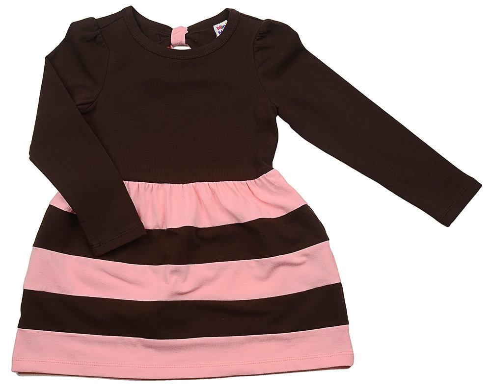 UD 0880(5)розовый  Mini Maxi Платье (98-122см) UD 0880(5)розовый