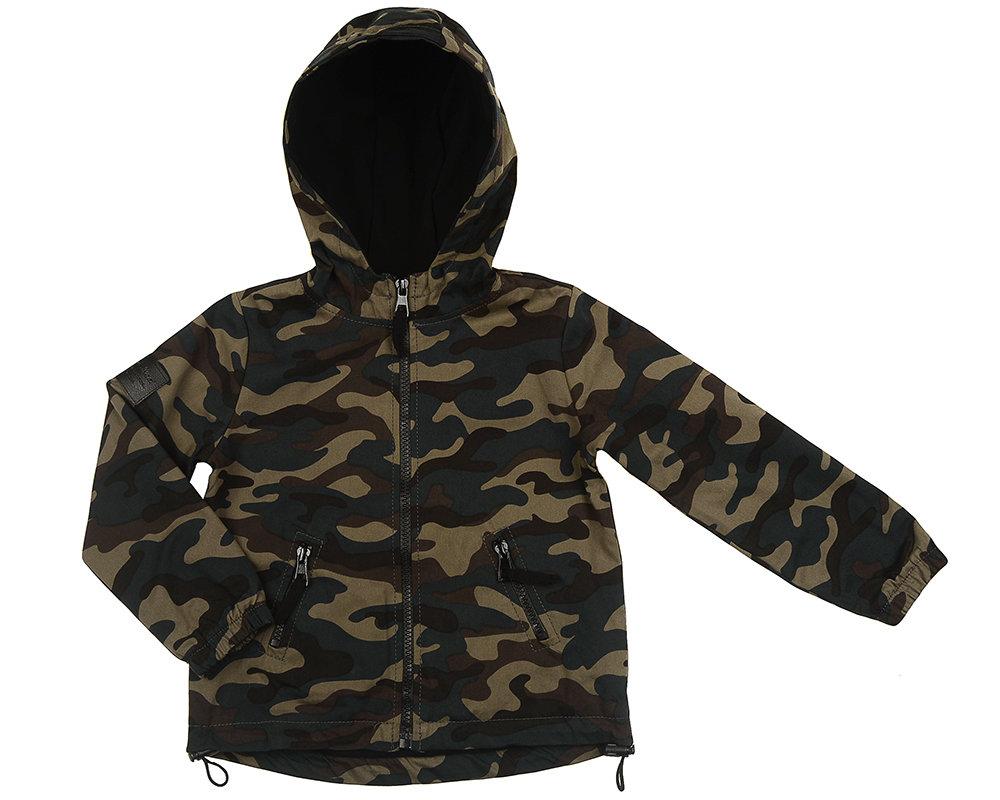 UD 4483(2)камуфляж  Fifteen Куртка (128-146см) UD 4483(2)камуфляж