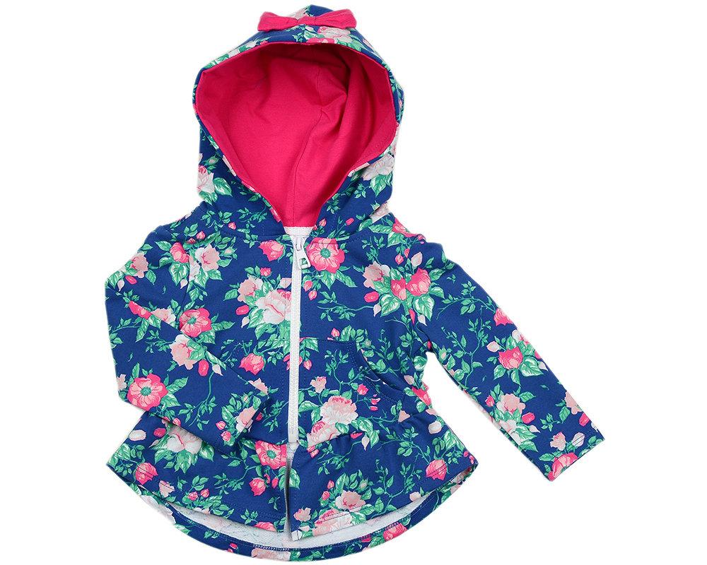 UD 2304(2)розы  Mini Maxi Куртка для девочки (98-116см) UD 2304(2)розы