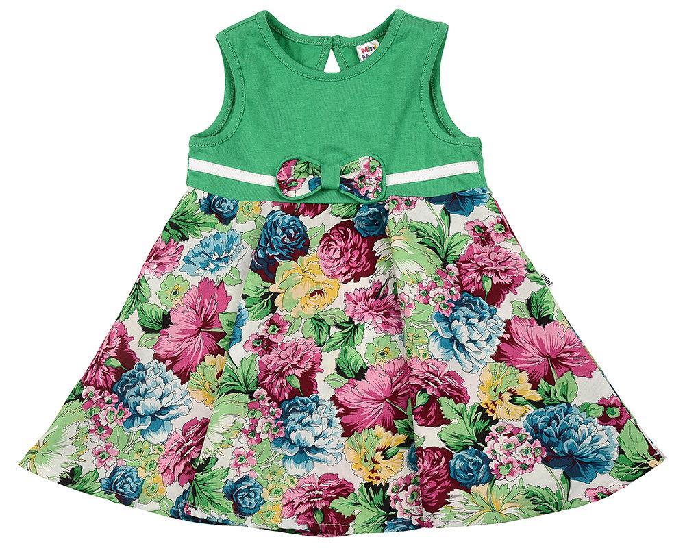 UD 3362(2)зелен  Mini Maxi Платье (80-92см) UD 3362(2)зелен