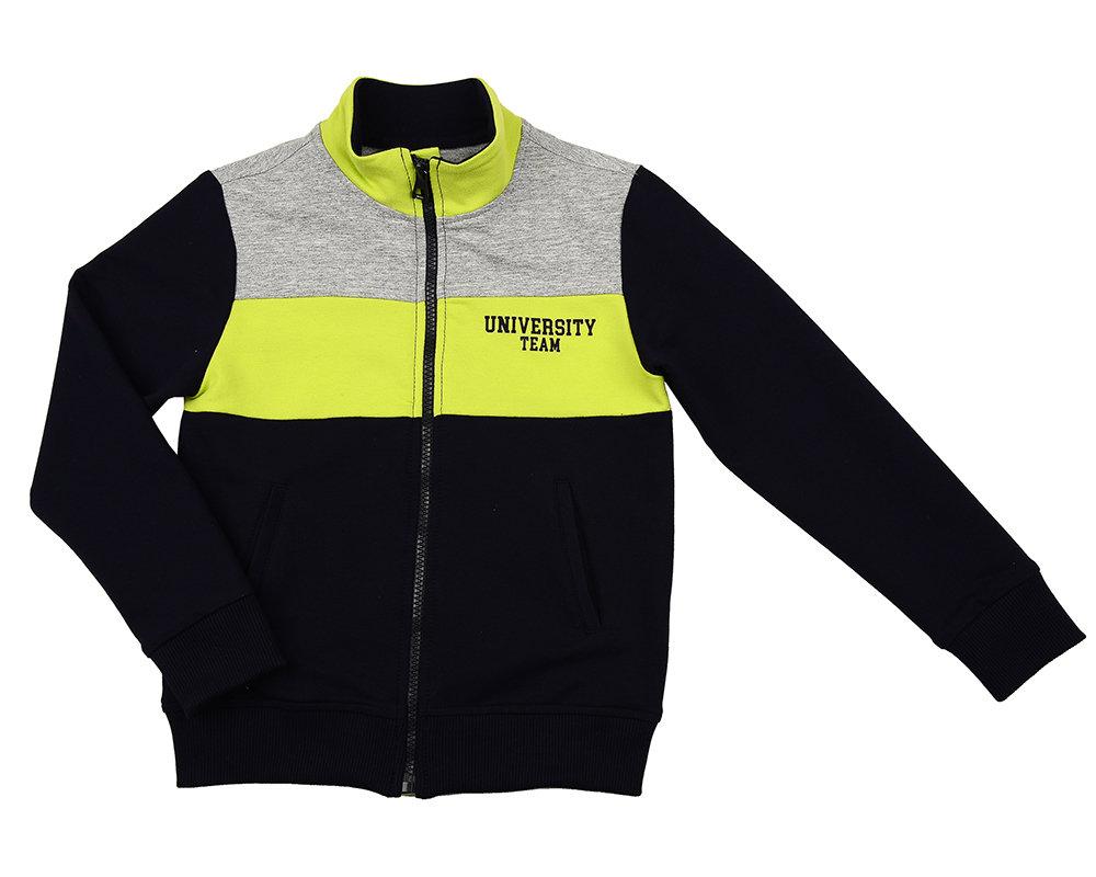 UD 4750(2)син-салат  Fifteen Бомбер (куртка) (122-146см) UD 4750(2)син-салат
