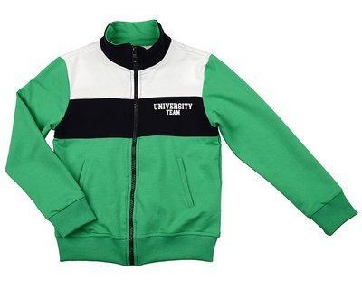 UD 4750(1)зеленый  Fifteen Бомбер (куртка) (122-146см)