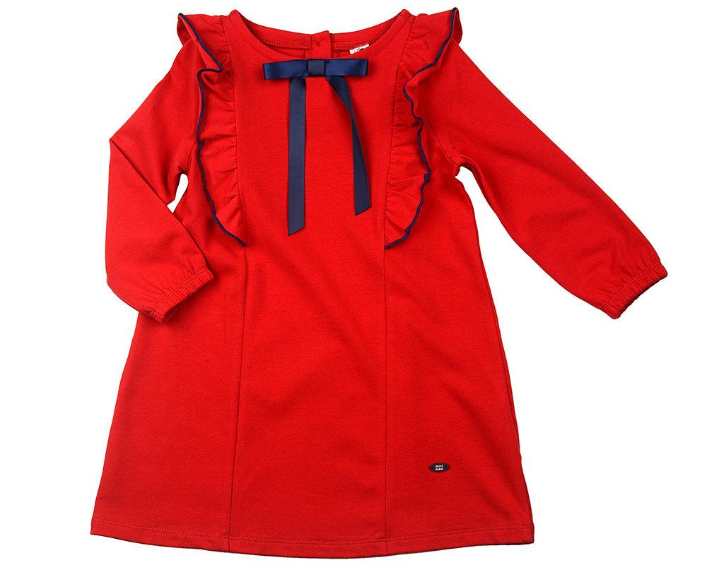 UD 4207(1)красный  Mini Maxi Платье (98-122см) UD 4207(1)красный