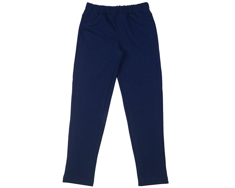 UD 0519(5)т.синий  Fifteen Брючки для девочки (122-146см) UD 0519(5)т.синий