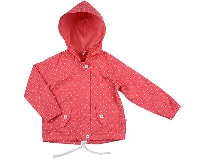 UD 4490(1)малина  Mini Maxi Куртка в горошек (98-116см)