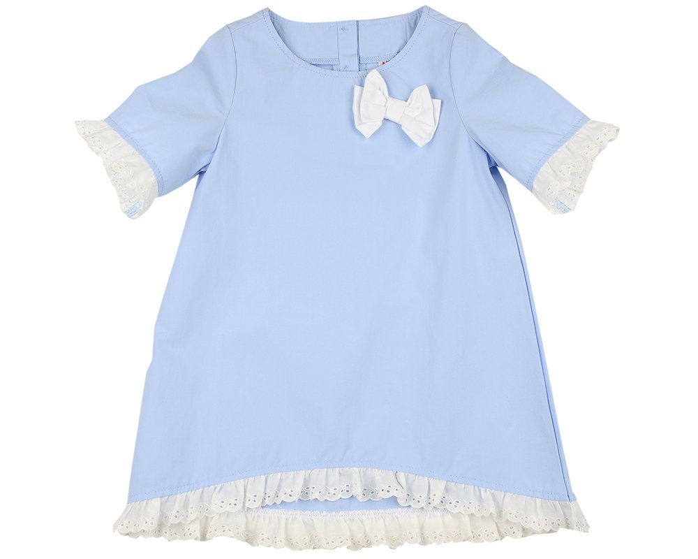 UD 4833(1)голубой  Mini Maxi Платье (98-116см) UD 4833(1)голубой