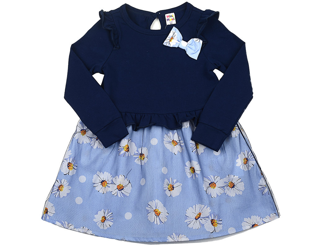 UD 3881(2)синий  Mini Maxi Платье (92-116см) UD 3881(2)синий