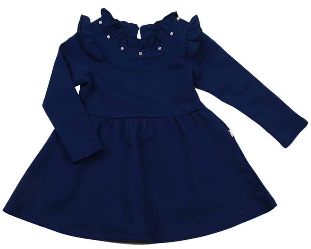 UD 2599(6)синий  Mini Maxi Платье (98-116см) UD 2599(6)синий