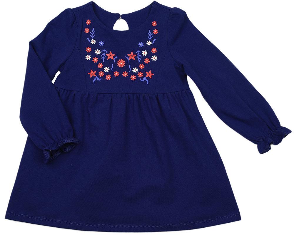 UD 2489(4)синий  Mini Maxi Платье (98-116см) UD 2489(4)синий
