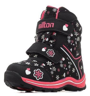 26371  Milton Ботинки зимние оптом, размеры 27-32