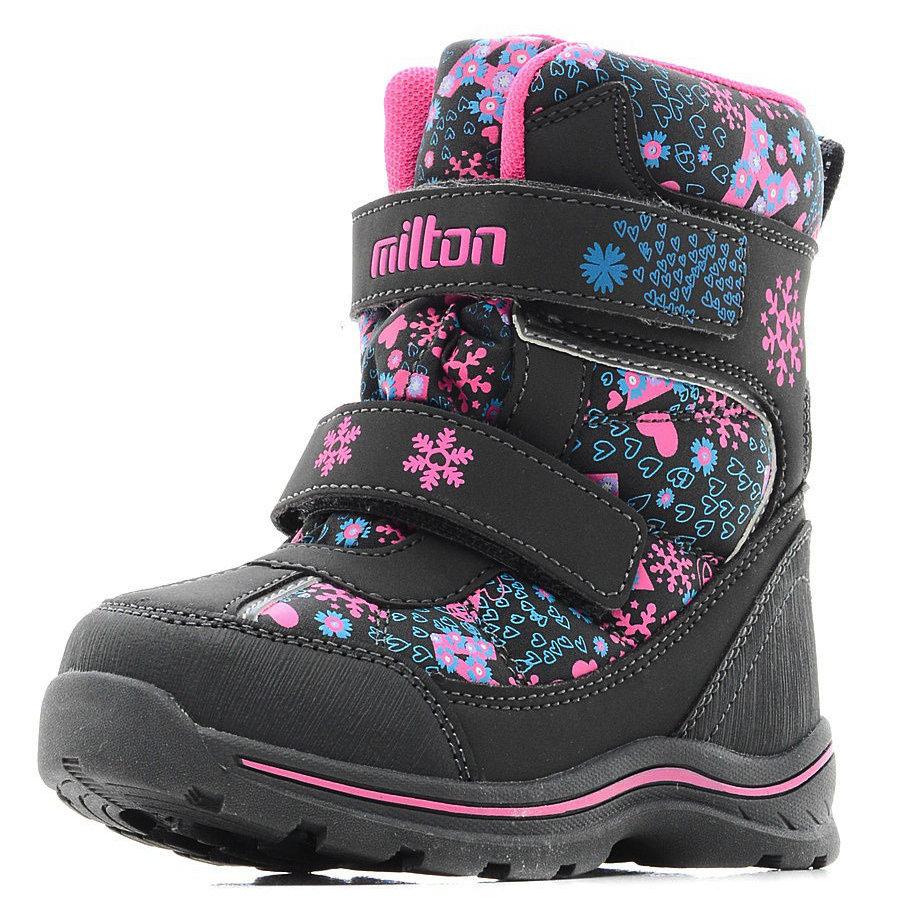 26370  Milton Ботинки зимние оптом, размеры 27-32 26370