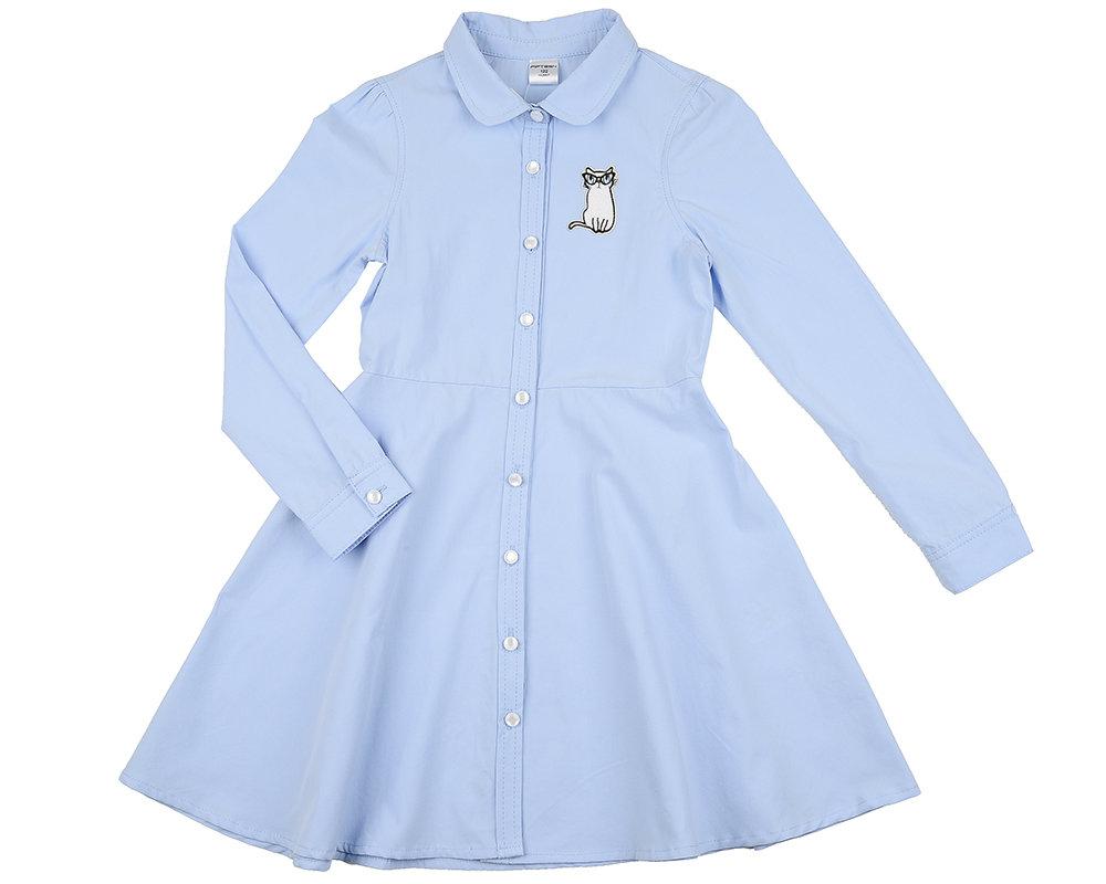 UD 4901(1)голубой  Fifteen Платье (122-146см) UD 4901(1)голубой