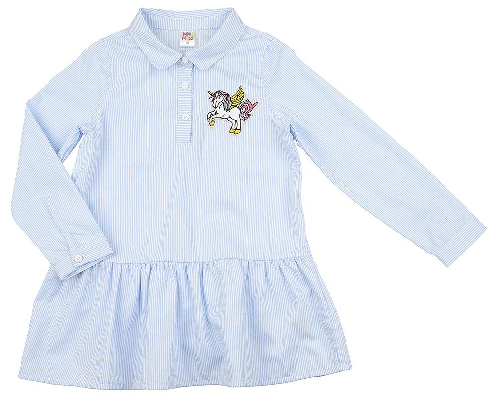 UD 4898(1)голуб  Mini Maxi Платье (98-122см) UD 4898(1)голуб