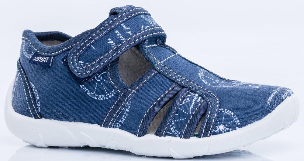 421027-11 Сандали текстильные Котофей оптом, размеры 26-31 421027-11
